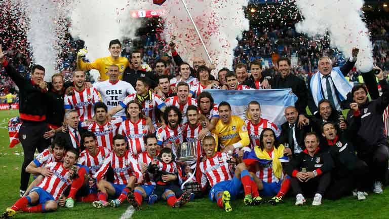 Atlético de Madrid gana la Copa del Rey