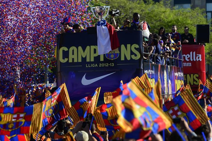 El FC Barcelona gana la Liga