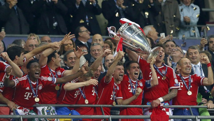 Bayern de Múnich gana la Copa de Europa