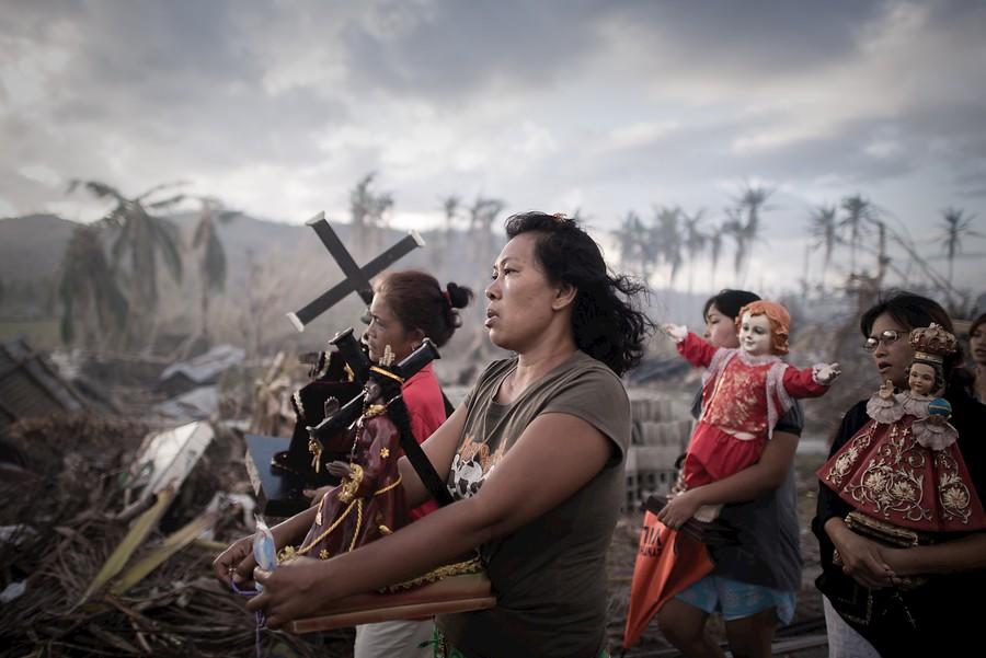 Haiyan arrasa Filipinas