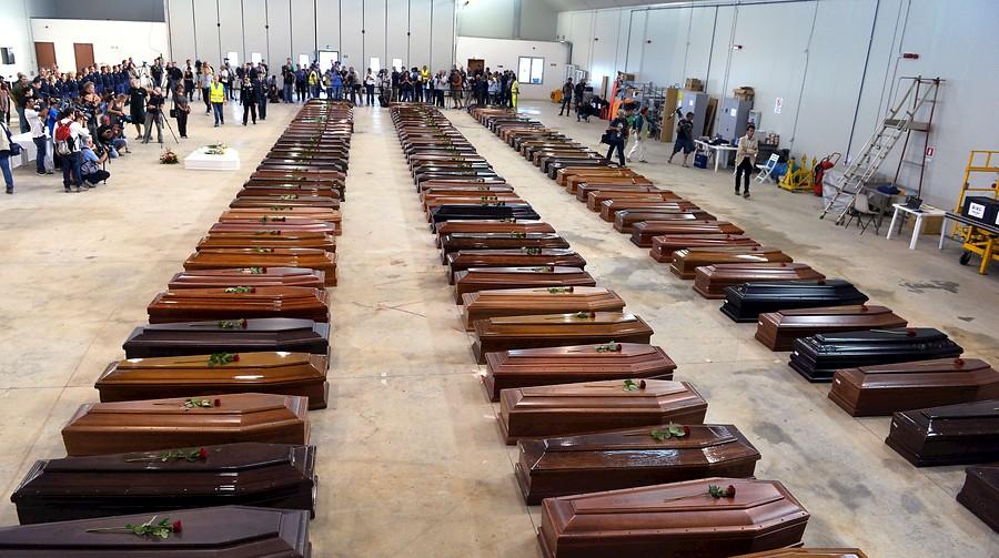 Lampedusa avergüenza a Europa