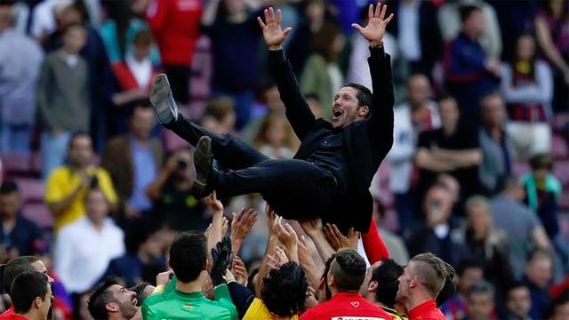 El Atlético, campeón de Liga