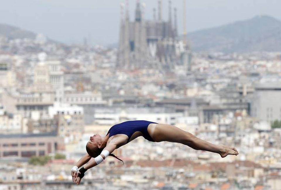 Barcelona, piscina mundial