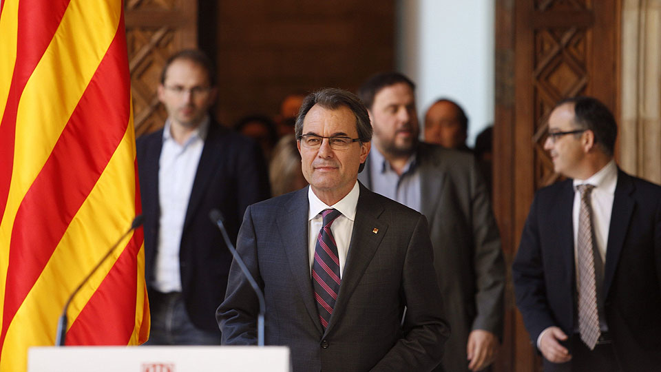 Consulta soberanista en Cataluña