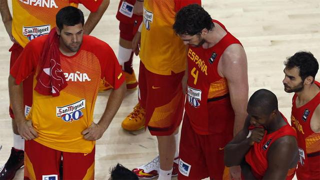España naufraga en su Mundial de baloncesto