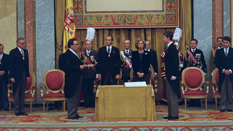 ¿Cuánto mide el Rey Felipe VI? - Real height 023juraconstitucion