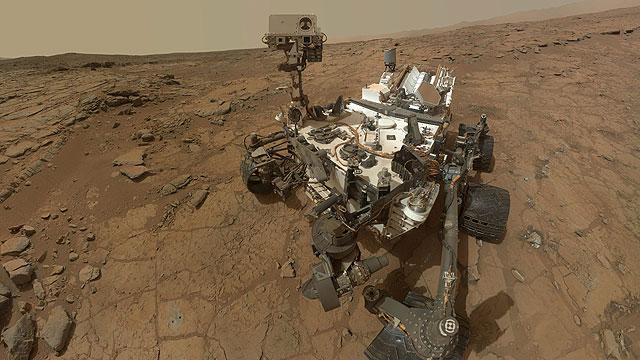 Gas metano en Marte