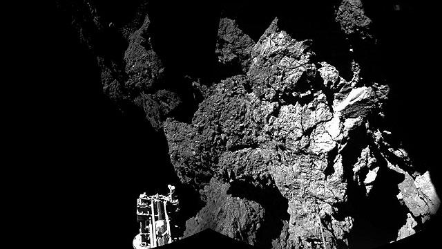 Rosetta, el aterrizaje sobre un cometa