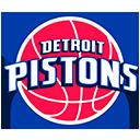 Escudo del equipo 'Detroit Pistons'