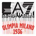Escudo del equipo 'EA7 Emporio Armani'
