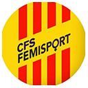 Escudo del equipo 'Femisport Palau'