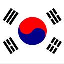 Bandera de KOR