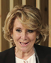 Partido Popular: Esperanza Aguirre (63 años)