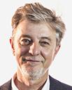 Zaragoza en Común (Podemos e IU): Pedro Santiesteve (57 años)