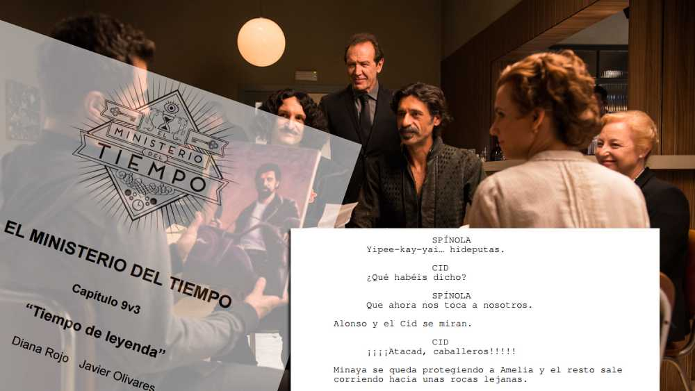 Descarga el guion del capítulo 9 de 'El Ministerio del Tiempo'