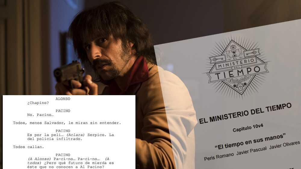 Descarga el guion del capítulo 10 de 'El Ministerio del Tiempo'