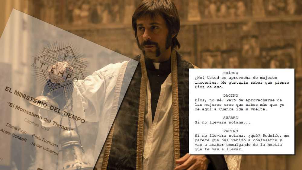 El guion del capítulo 12 de 'El Ministerio del Tiempo'