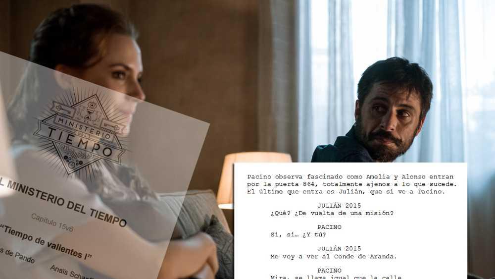 """El guion del capítulo 15 de 'El Ministerio del Tiempo', """"Tiempo de valientes I"""""""