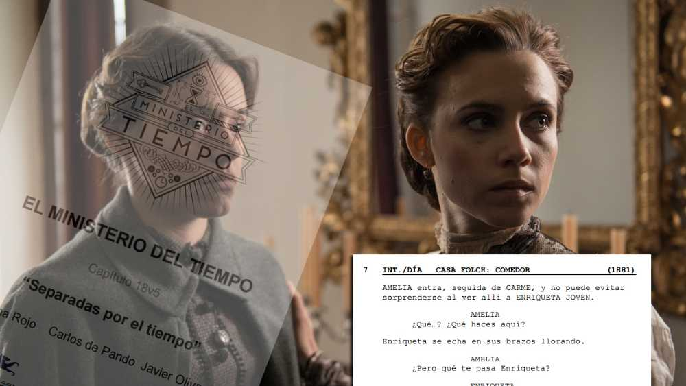 El guion del capítulo 18 de 'El Ministerio del Tiempo'