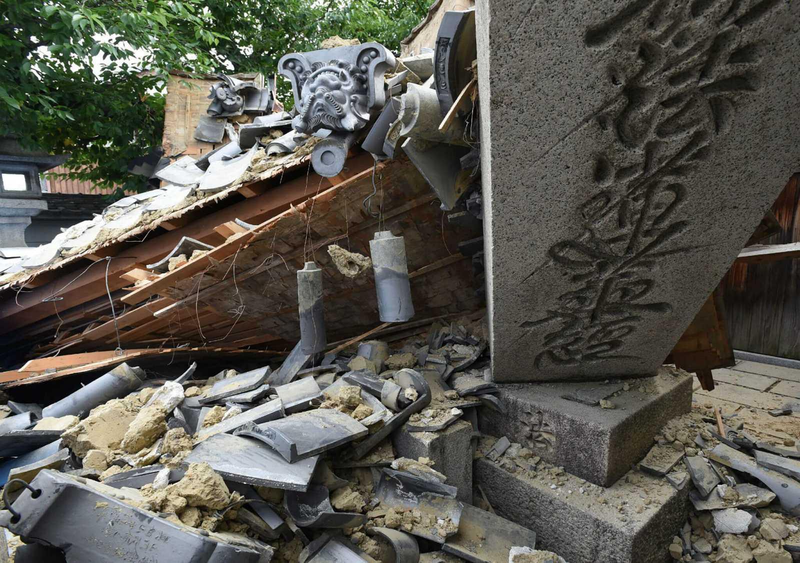Las imágenes del terremoto de Japón
