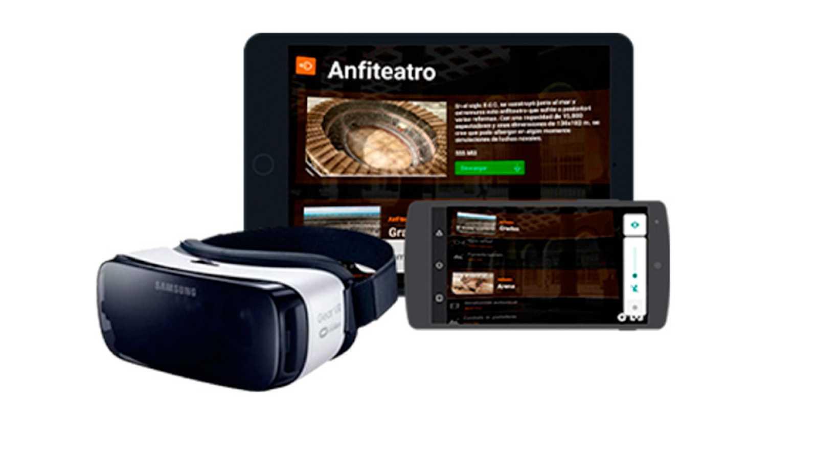 Viaja a la época Romana en realidad virtual interactiva