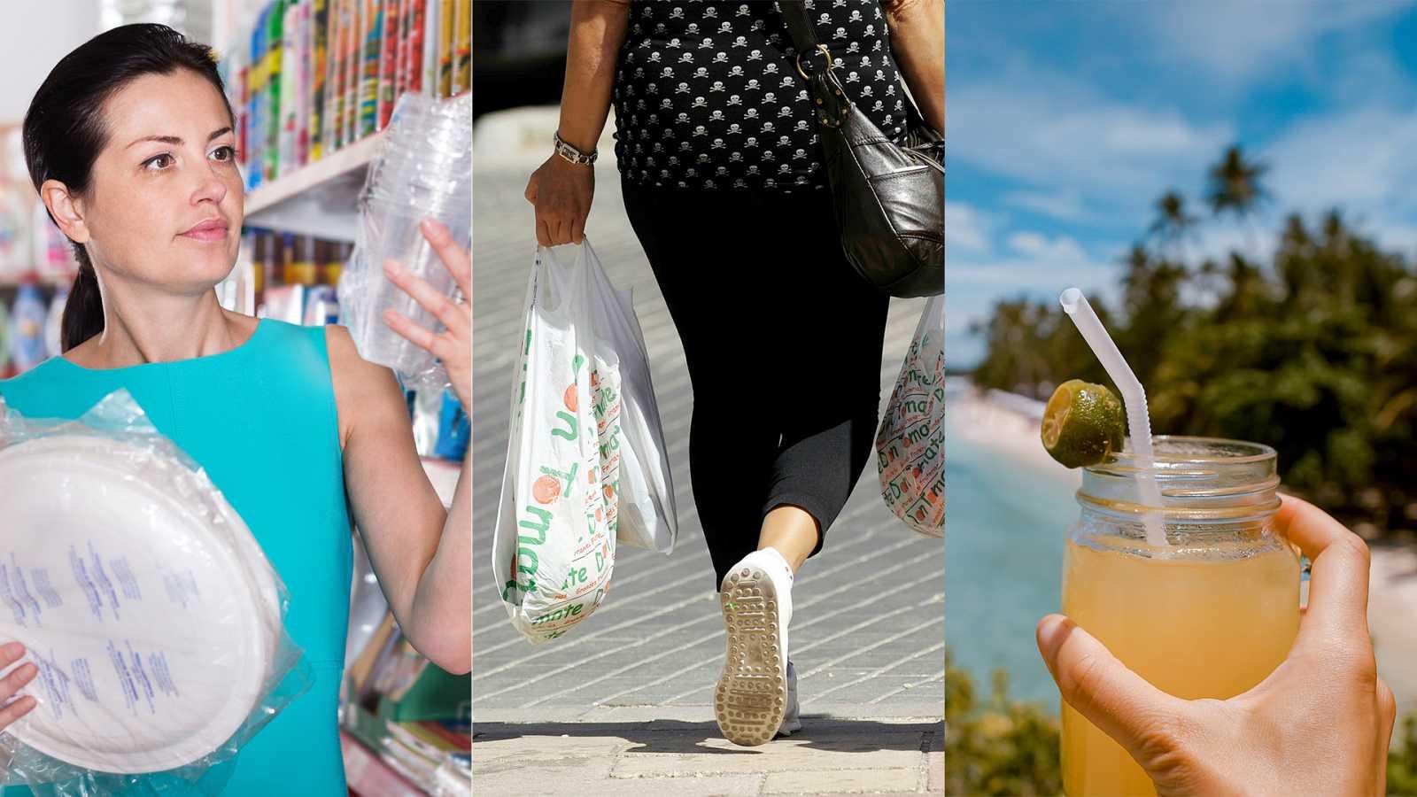Nueve plásticos desechables que la UE prohibirá en 2021