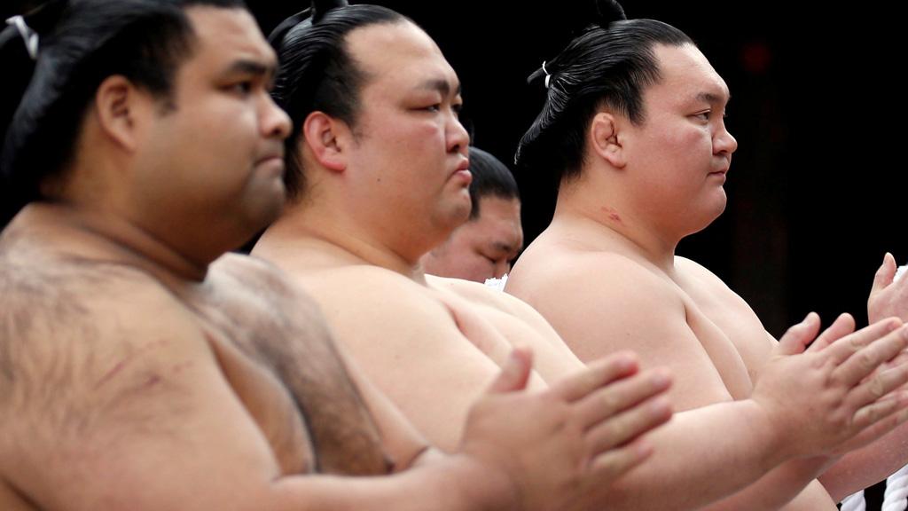'Yasukuni Shrine', el torneo de sumo en honor a los caídos
