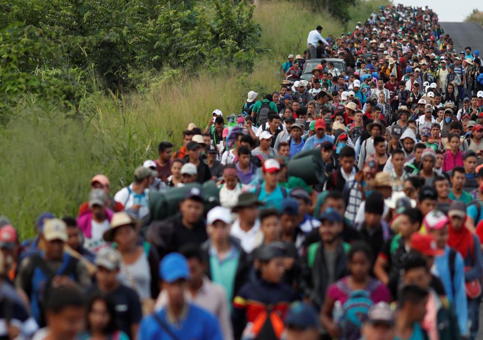 ¿Cómo son las caravanas de inmigrantes que se dirigen a EE.UU.?