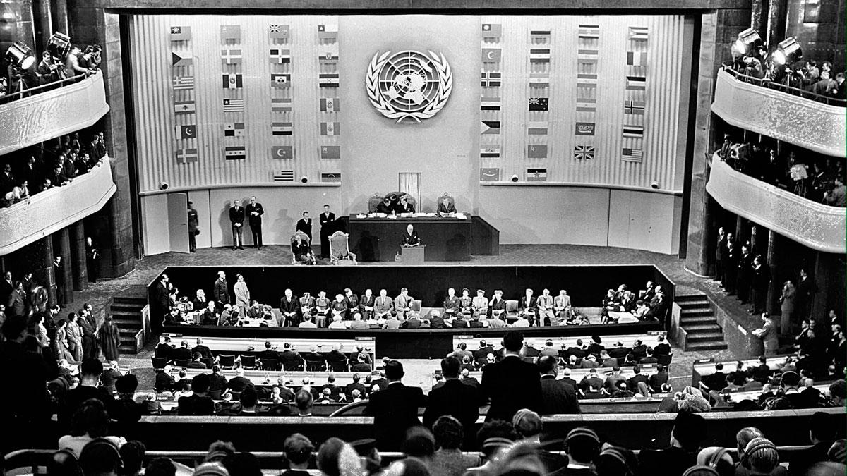 Una vuelta al mundo en el 70 aniversario de los DDHH