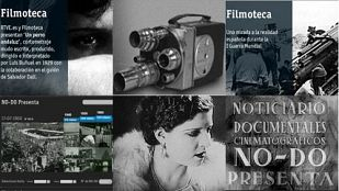 RTVE is marketing a selection of images from the National Film Archive