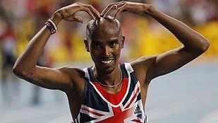 El británico Mo Farah y la jamaicana Fraser-Pryce hacen doblete