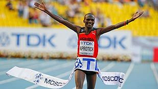 Kiprotich, de campeón olímpico a campeón mundial de maratón