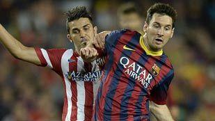 Así jugaron FC Barcelona y Atlético, uno a uno