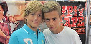 Raúl Rivas (Zipi) y Daniel Cerezo (Zape)