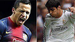 Alexis y Morata reclaman su sitio como titulares en el 'clásico'