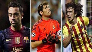 Xavi, Casillas y Puyol, los clásicos del 'clásico'