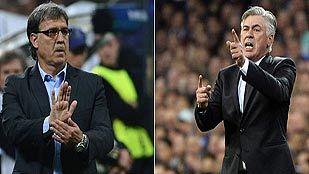 Tata y Ancelotti, dos debutantes de sobrada experiencia