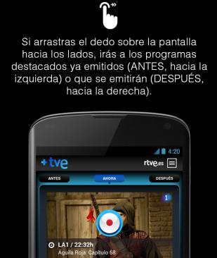 Tutorial: cómo usar +TVE en teléfonos Android