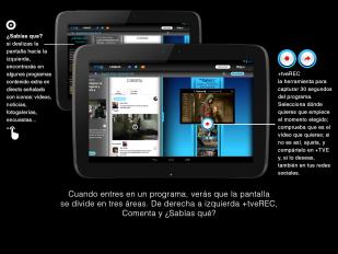 Tutorial: cómo funciona +TVE en tabletas Android