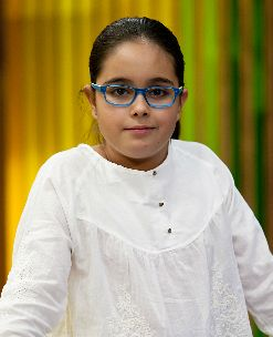 Esther. 11 años, 6º de Primaria (León)