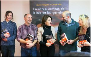 Las fotos de la presentación del libro