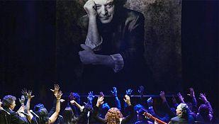 Homenaje del mundo del flamenco a Morente