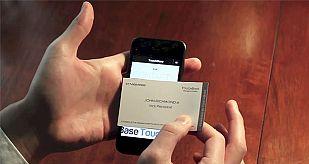 Transferencia de los datos de una tarjeta al móvil.