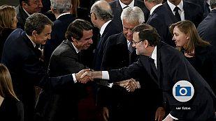 Las mejores imágenes del funeral de Suárez