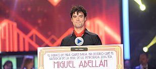 ¡Miguel Abellán se convierte en el ganador de 'Mira quién baila'!