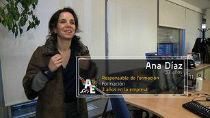 Ana Díaz (37 años) Responsable de formación