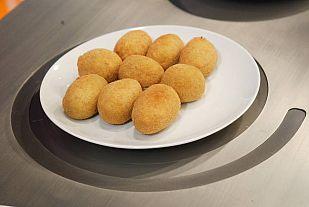 Receta de croquetas de jamón (sin lactosa)