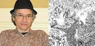 Joe Sacco en Madrid y un fragmento de una de sus ilustraciones para 'La Gran Guerra'