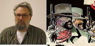 R.M.Guéra y su interpretación de los protagonistas de 'Django desencadenado'
