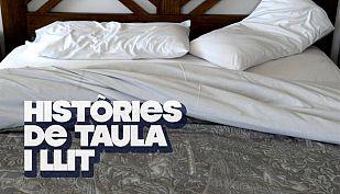 """Logo """"Històries de taula i llit"""""""